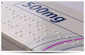 Braille etiketten