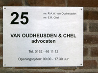 VOC advocaten naambordje